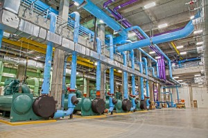 Parkland Hospital's state-of-the-art central utility plant