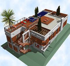 Model Solar Home
