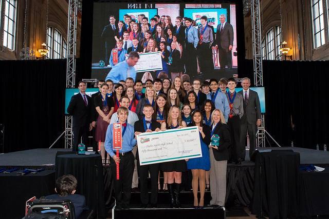2013 Battle of the Brains Award Ceremony Olathe North