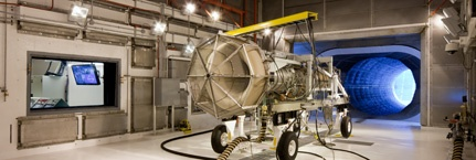 Jet Engine Test Cell in Wired magazine