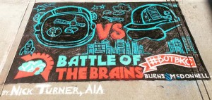 Judging Underway for Battle of the Brains STEM Competition