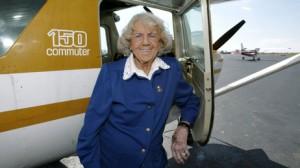 Evelyn Johnson's aviation accomplishments