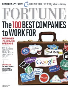 FORTUNE magazine's 100 Best Companies To Work For