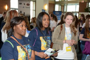 Introduce a Girl to Engineering Day in Kansas City