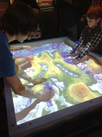 Interactive Sand Table