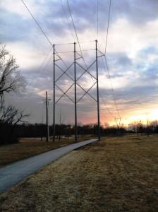 Trail Development Below Transmission Lines