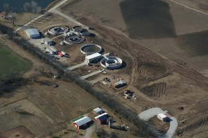 Mulvane wastewater treatment facility