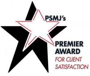 psmj client satisfaction award
