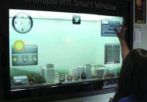 Samsung Smart Window CES 2012