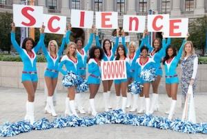 science cheerleaders
