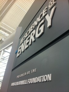 science of energy exhibit open