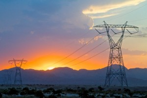 Sunrise Powerlink at sunset