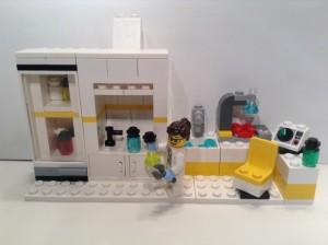 chemistry lego set